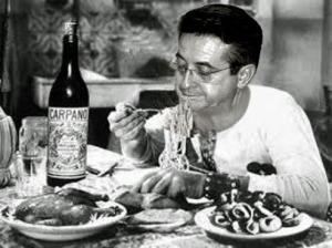 Marco Viérin, cliente affezionato del ristorante,  La Petite Patrie