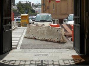Il nuovo accesso che da piazza san Francesco conduce verso l'area archeologica!
