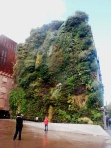 Verde verticale a Madrid.