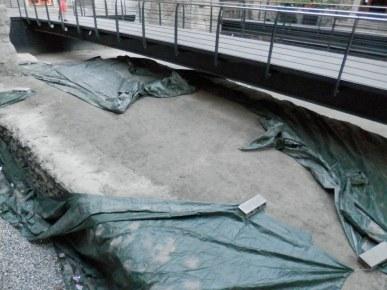 Installazione artistica in occasione del Bimillenario della morte d'Augusto.